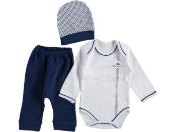 Костюм на малыша 6-9 мес синего цвета 312563