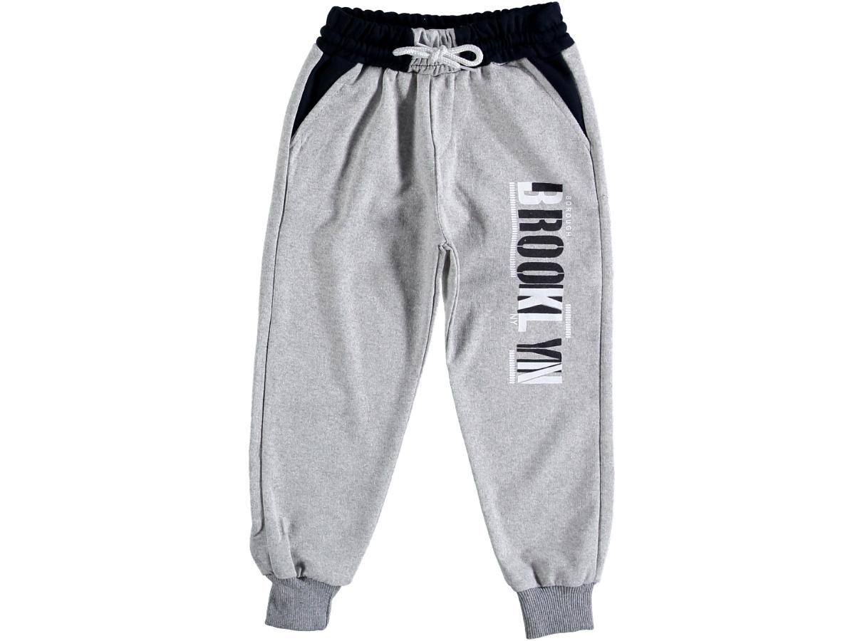 Спортивные штаны 5/8 лет серые 306726